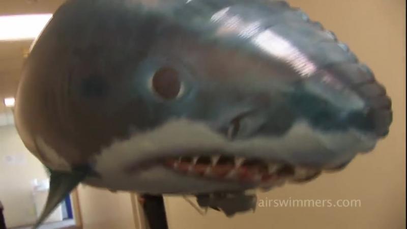 Air Swimmers летающие рыбы и акулы радиоуправление