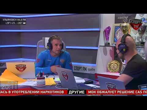 Футбольный жонглёр-рекордсмен Виктор Царёв в гостях у Спорт FM. 30.06.18