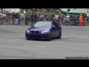 BMW M5 E60 in Action - REVS, Drifts Burnouts! Brutal Eisenmann Sound