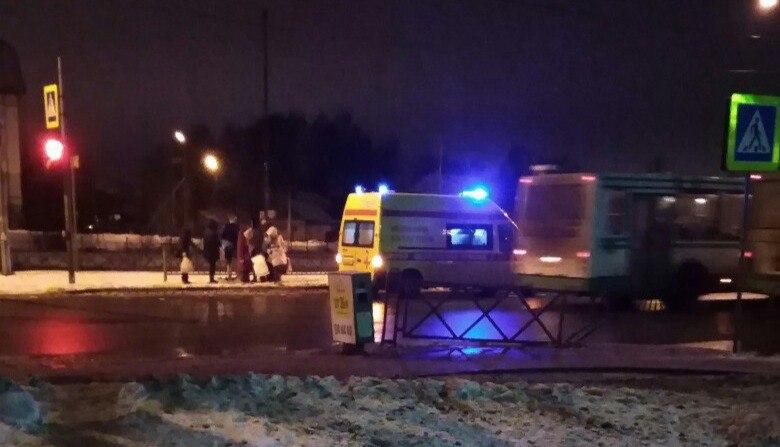 На проспекте Фрунзе в Дядьково на «зебре» сбили женщину