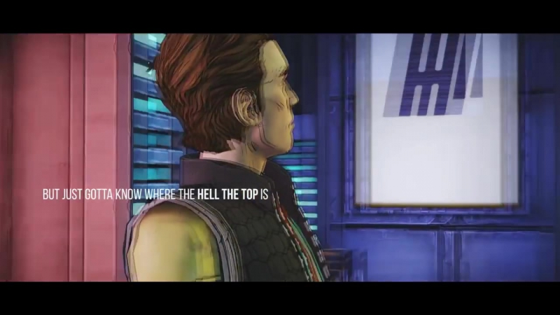 Handsome Jack Rhys - For the last time (Tales from the Borderlands)