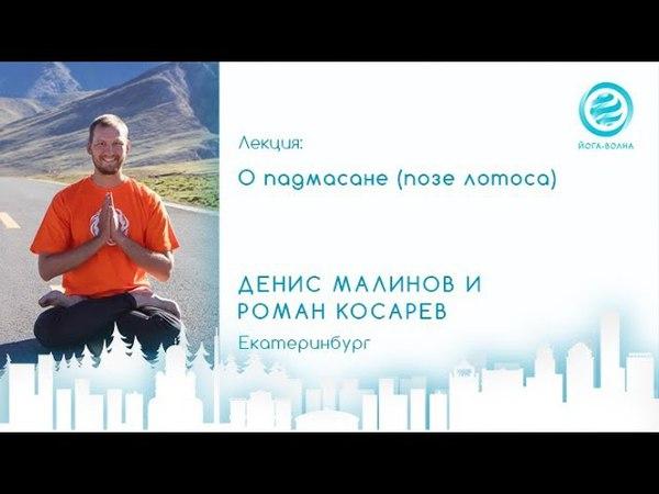 О Падмасане (позе лотоса). Денис Малинов и Роман Косарев