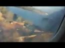 Падения самолета из-за возгорания двигателя в Южной Африке