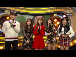 · Interview · 180114 · OH MY GIRL · SBS