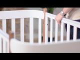 Кроватка-трансформер MOMMY | Happy Baby