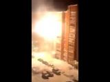 Обстрел дома в Томске