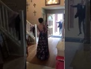 Student Surprises Her Prom Date By Walking For The First Time In 10 Months ( Twitter Video )