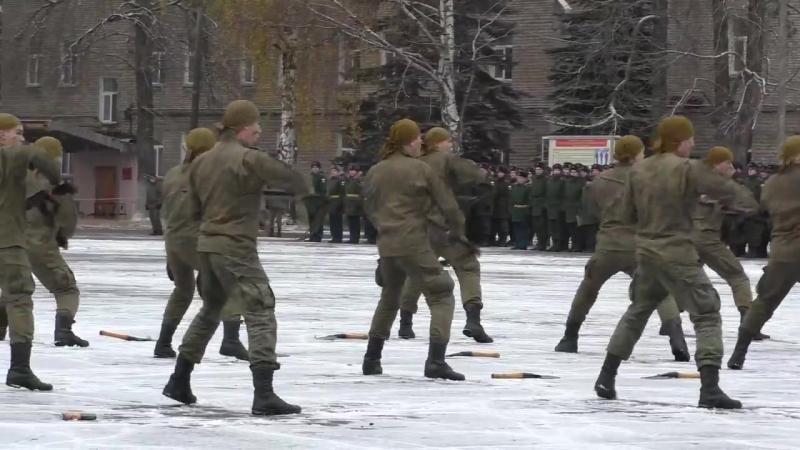 Группа рукопашного боя (Выступление в Учебном центре связистов в_ч 74400) 28.10