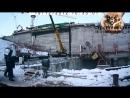 Падение крана в Сергиевом Посаде 480 Строительство Стройка Спецтехника Техника Строй