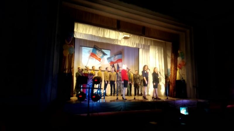 Выступление Шахтерского техникума кино и телевидения им. А.А. Ханжонкова на фестивале