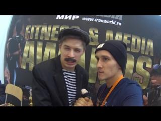 Виталий Орехов в образе бати