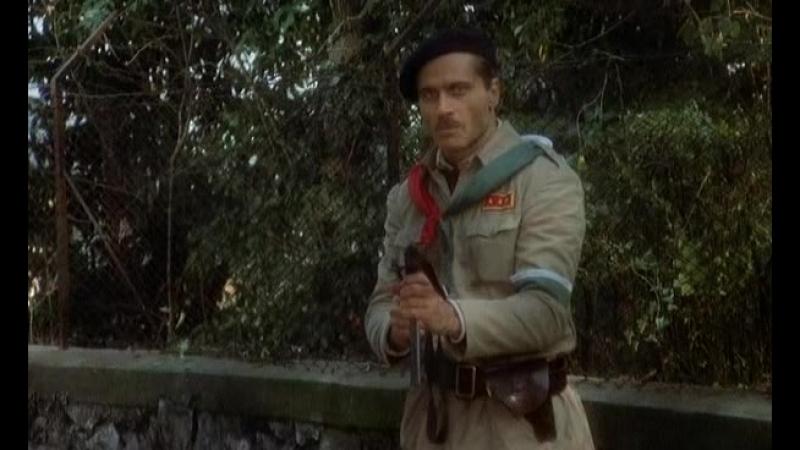 Расстрел Дуче Сцена из фильма Mussolini Ultimo atto С Lizzani 1974