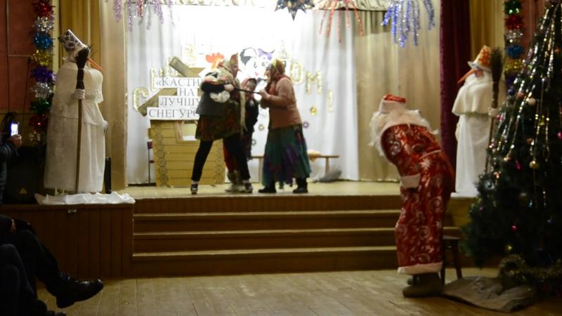 Театрализованное представление Баба Яга против Веркольский ДК часть 4 .видео Кантемировой А.В.