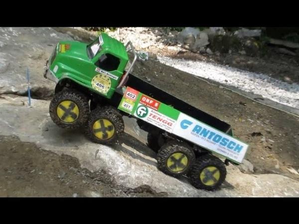 Scale Modell Truck Trial Europameisterschaft 2013 in Salzburg Österreich