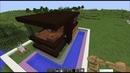 Строю дом в стиле ХАЙ ТЕК в майнкрафт часть 2-ая