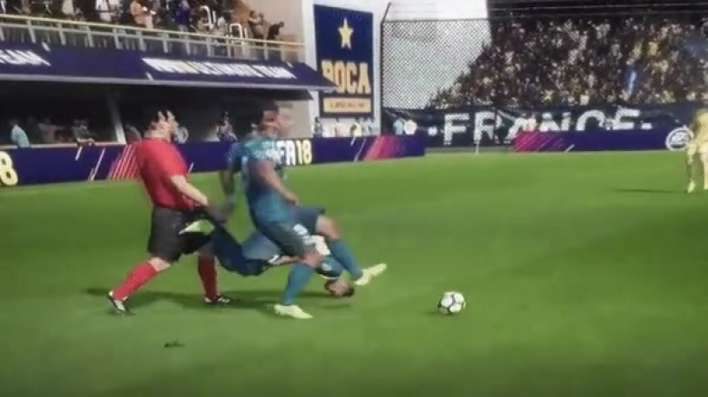 FIFA 2018 - реалистичная графика!