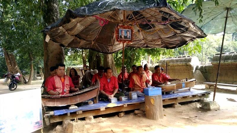 Камбоджийские музыканты