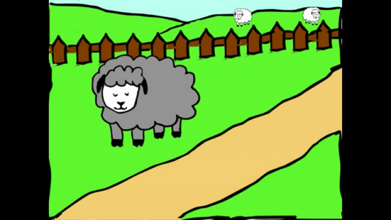 Baa Baa Black Sheep - nursery rhymes and baby songs