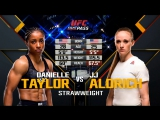 UFC FIGHT NIGHT ST. LOUIS Danielle Taylor vs. JJ Aldrich
