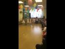 Карлсон и дети средней группы на выпускном утреннике в Детском саду Рыбка