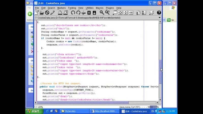 Сервлеты в интернет приложениях - Пример Веб-приложения - Урок 125