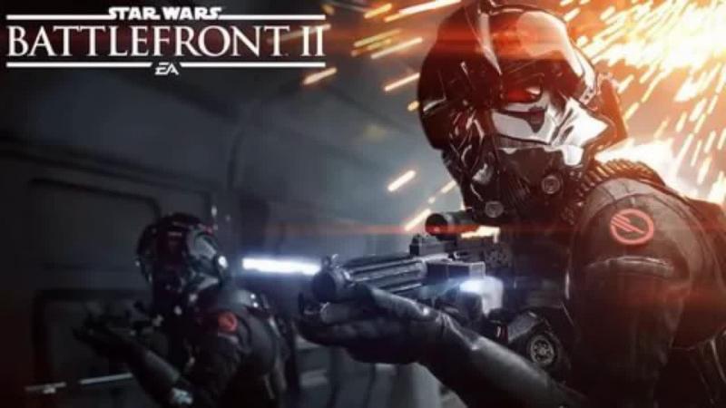 STAR WARS Battlefront II погоняем - полетаем