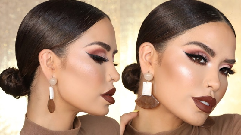 QUICK AND EASY 5 MINTUE LOW BUN iluvsarahii