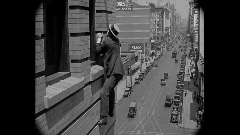 El hombre mosca - Safety Last (1923)