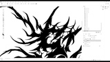 Speed Art - Creating BlackDeath Metal Logo