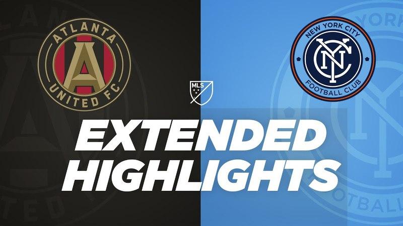 ATL's Ezequiel Barco MLS debut, NYCFC's David Villa back from injury | Extended Highlights