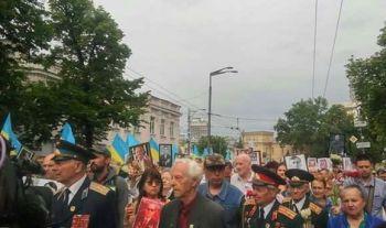 Несмотря на запреты режима и угрозы нацистов по Киеву прошел Бессмертный полк