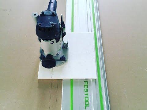 Как быстро сделать парящий потолок или доработка Festool 1010.