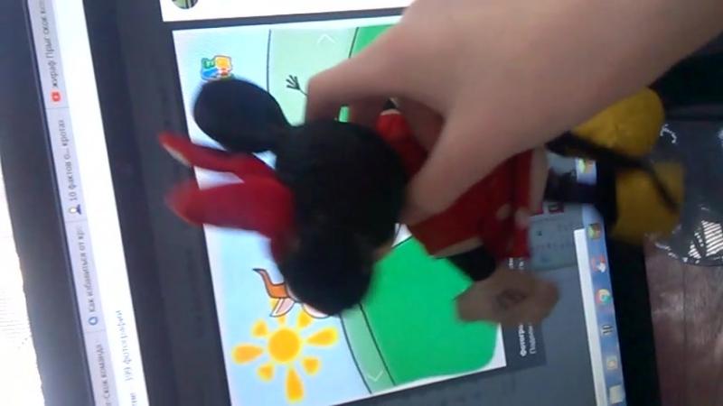 Обзор Мир животных 2018 от мышки Минни. Минни встретила корову.