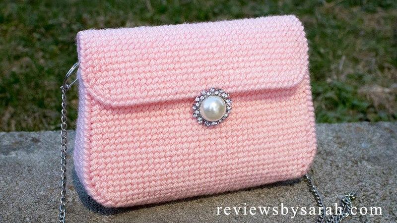 How to Make a Plastic Canvas Bag - Purse Handbag Clutch