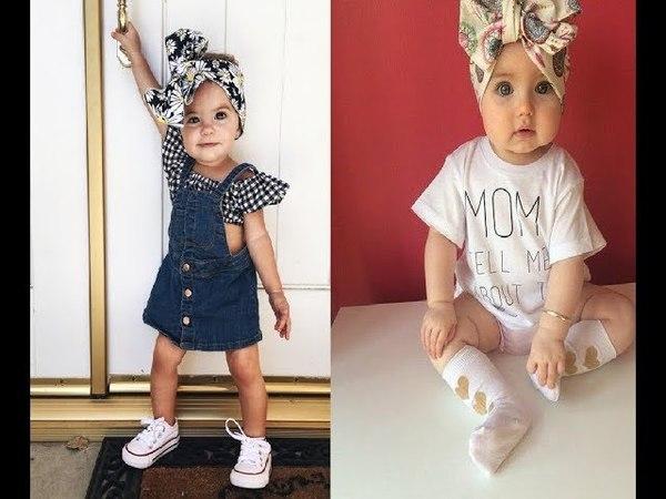 Самая красивая одежда новорожденных детей /The most beautiful clothes for newborns
