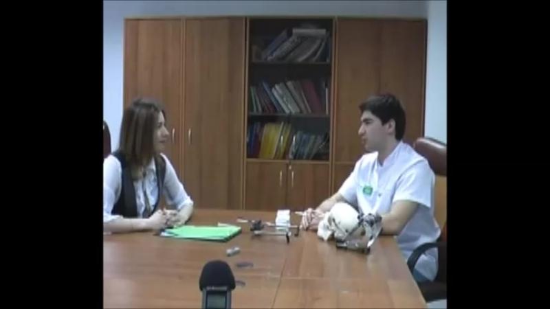 Интервью с врачом-ортопедом семейной стоматологии солнцево-парк Плавуцким Яном Сергеевичем 2012 год.