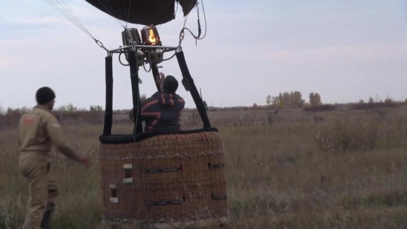 Шар который смог Полет на воздушном шаре Омск