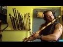 Bansuri Low C bass - home made - ambient improvisation