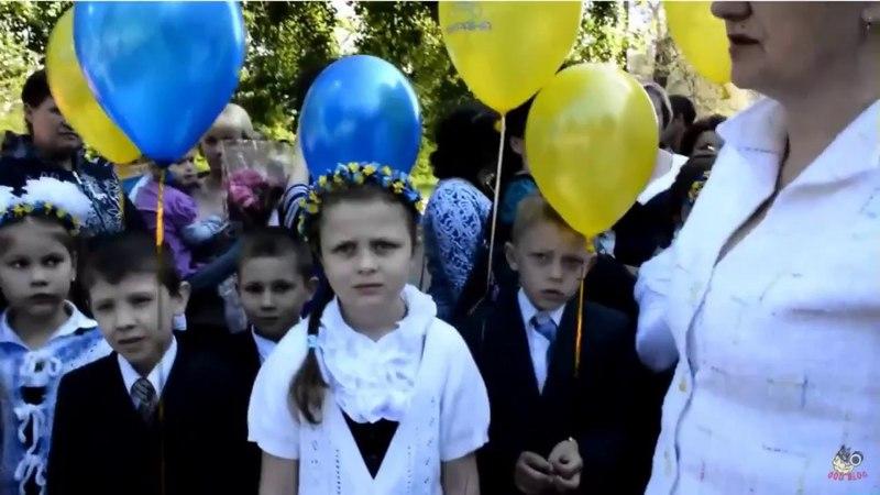 🇺🇦русский мир на Донбассеобстрел школы в Красногоровке (Донецкая обл., 2017р ) [АД]64