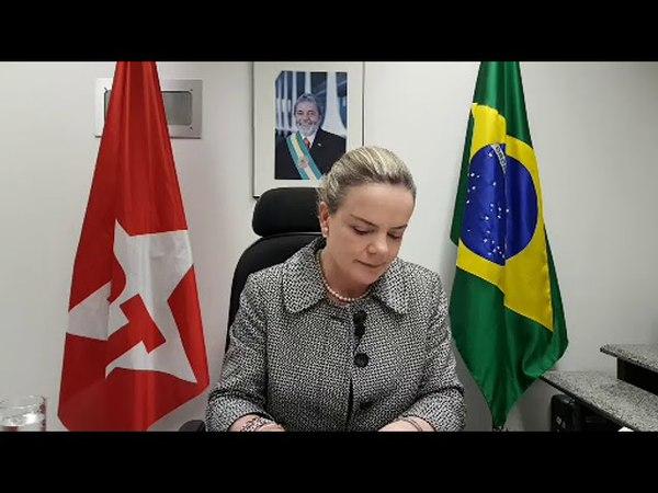 Agora a pouco Gleisi da entrevista a rádio CBN - O Povo, de Fortaleza, Ceará