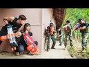 LTT Nerf War Special Police SEAL X Warriors Nerf Guns Deadshot Fight Criminal Group Titans