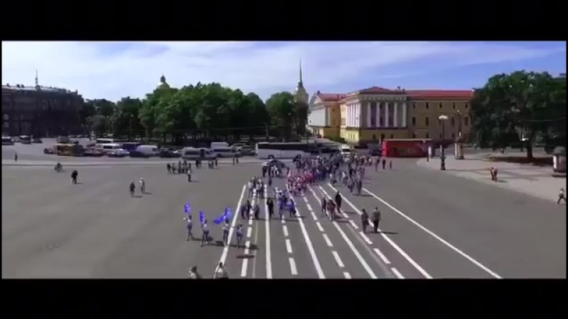 Вспоминаем. Petersburg Cup 2016. Церемония открытия на Дворцовой Площади