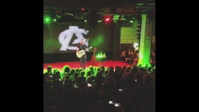 Adam Gontier - Just Like You (Russia, Ufa, Music Hall 27 22-11-2017)