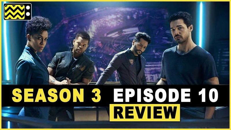 The Expanse Season 3 Episode 10 Review w/ Cara Gee Dominique Tipper | AfterBuzz TV