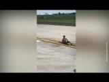 В чем мать родила: в США из самолета выскочил голый пассажир