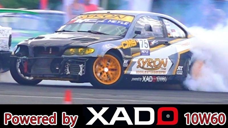 XADO BMW Syndikat Asphaltfieber 2018 Drift United Viertelfinale Maxi Grimm Motorsport Motoröl