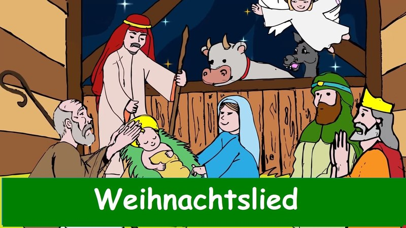 Ihr Kinderlein kommet Traditionelles Weihnachtslied in Deutscher Sprache Yleekids Deutsch