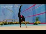 Екатерина Селезнева - обруч (опробование площадки) // Этап Кубка Мира 2018, София