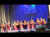 Выступление среднего состава Образцового ансамбля ложкарей Былина на городлском конкурсе  Приокская метель 2018