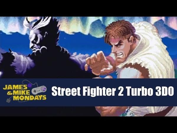 Super Street Fighter II Turbo (3DO) James Mike Mondays